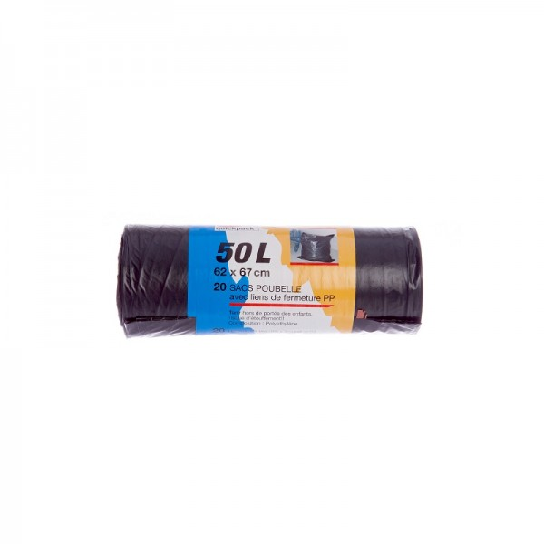 Sac Poubelle 50L /20p-